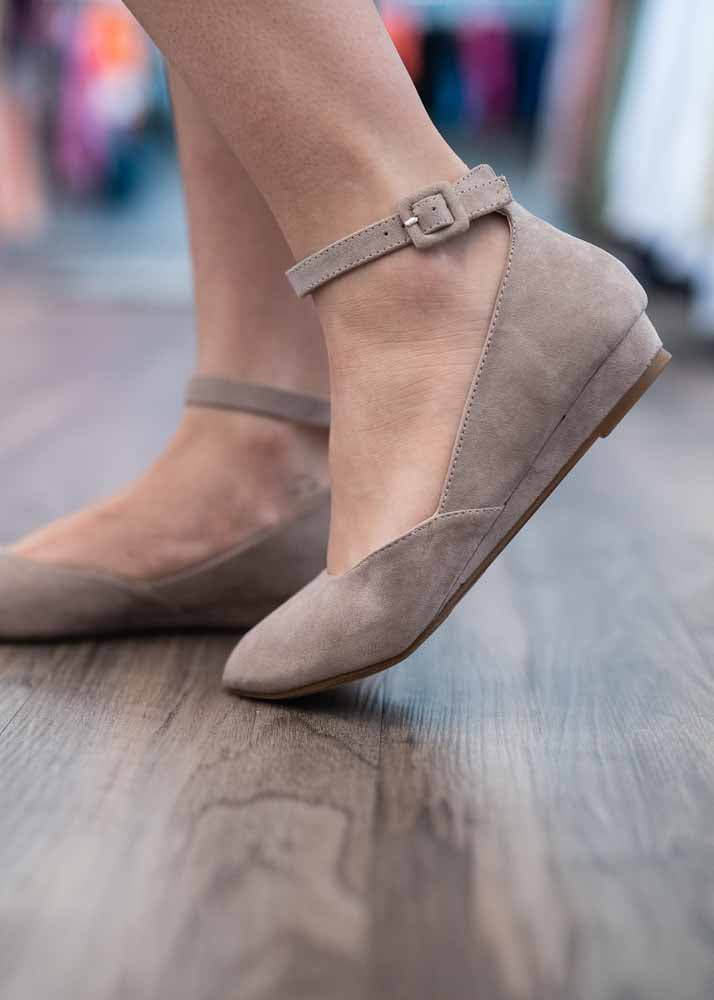 Katy Taupe Shoes