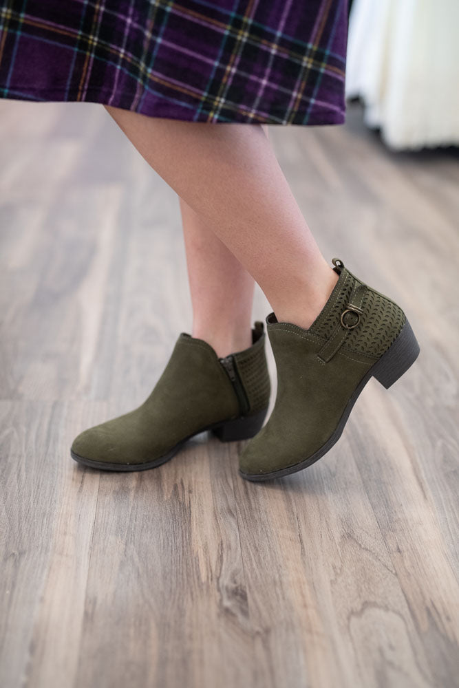 Larissa Olive Shoes