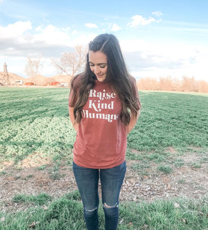Raise Kind Humans Graphic Tee