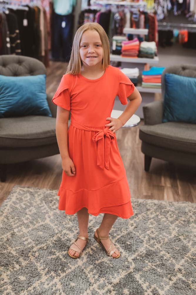 Kendra Coral Dress