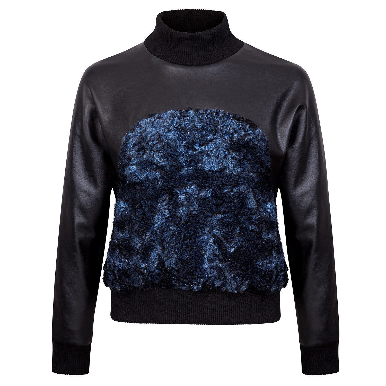 BLACK & BLUE SPORTY JUMPER