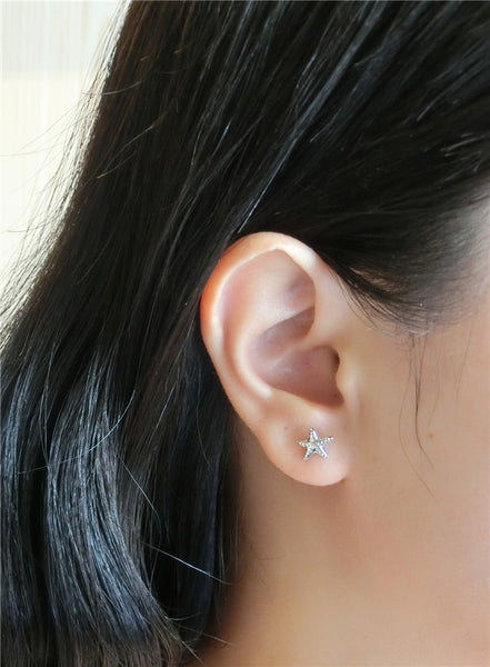 YAN & LEI Sterling Silver Sea Snail Stud Earrings