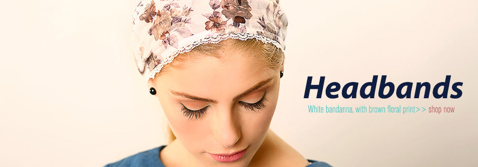 Modest headbands