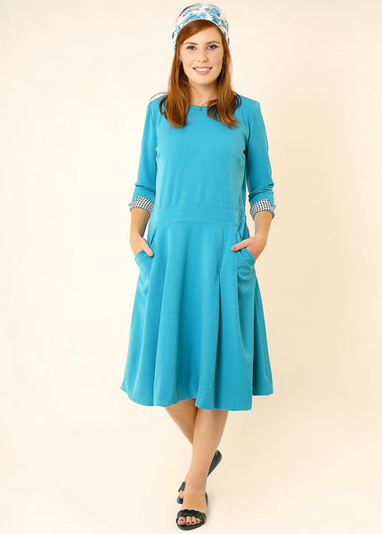 Tea length midi dress