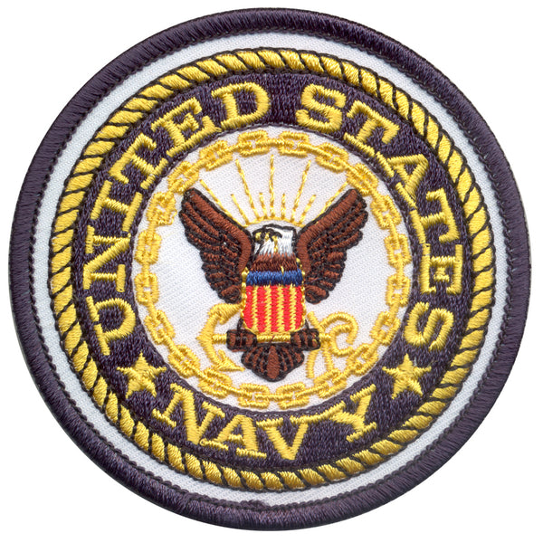 US Navy Emblem Patch (1590) / Morale Patch - Totowa Airsoft