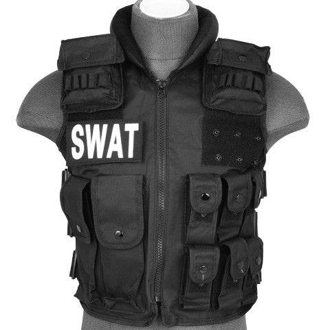 Swat & Police Vest (SWATVEST) / Tactical Vest - Totowa Airsoft
