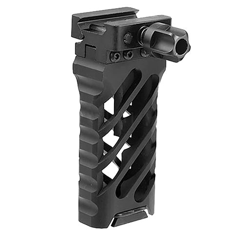 QD Vertical Grip 45 Long (GRIPQD02) / Tactical Grip - Totowa Airsoft