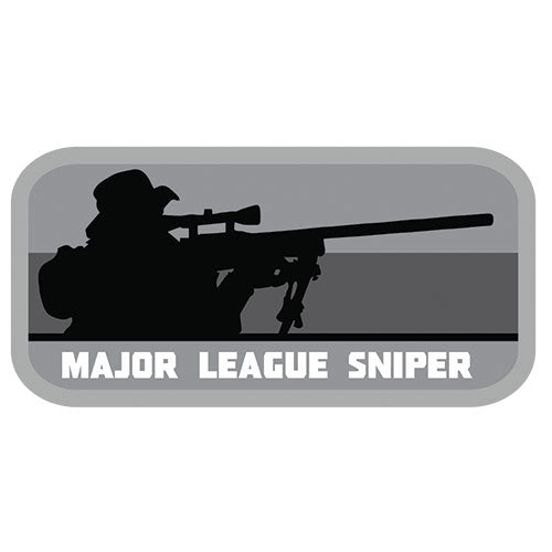 Major League Sniper Patch (84P-361) / Morale Patch - Totowa Airsoft