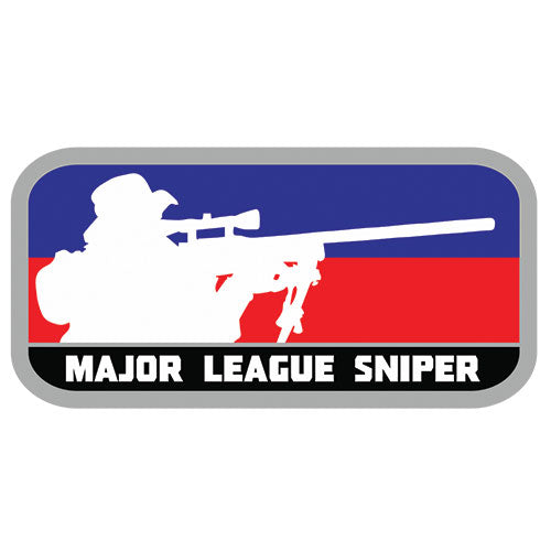 Major League Sniper Patch (84P-362) / Morale Patch - Totowa Airsoft