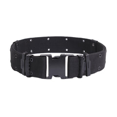 Rothco USMC Style Black Quick Release Pistol Belts (BEPQR) / Tactical Belts - Totowa Airsoft