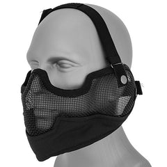 Full Face Mesh Mask (MESHMASKF) / Mask - Totowa Airsoft