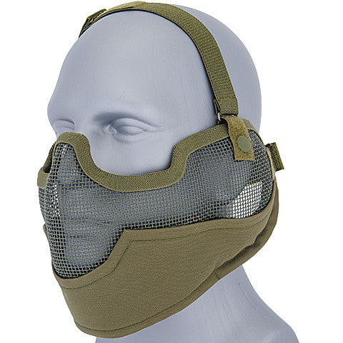 OD Full Face Mesh Mask (MESHMASKF) / Mask - Totowa Airsoft