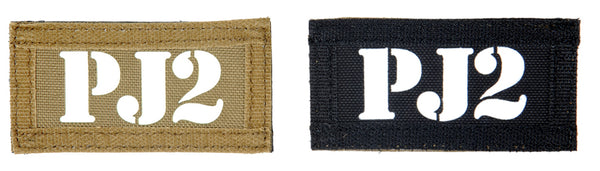 PJ2 Double-Sided Patch (PATCH010A) / Morale Patch - Totowa Airsoft