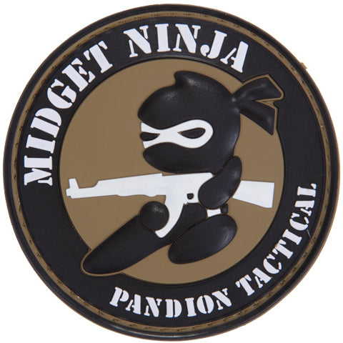 Midget Ninja Patch (PATCH019A) / Morale Patch - Totowa Airsoft