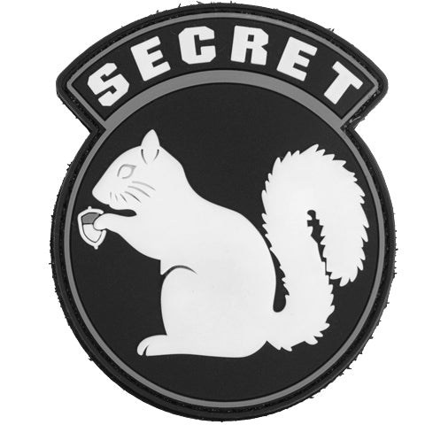 Secret Squirrel Patch (PATCH020A) / Morale Patch - Totowa Airsoft