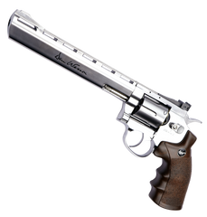 "Dan Wesson 8"" Dirty Harry Revolver (ASPC135) / CO2 Revolver Airsoft Pistol - Totowa Airsoft"