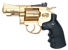 "Dan Wesson 2.5"" Gold Rush Revolver (ASPC133) <span style=""color:red;"">(Discontinued)</span> / CO2 Revolver Airsoft Pistol - Totowa Airsoft"