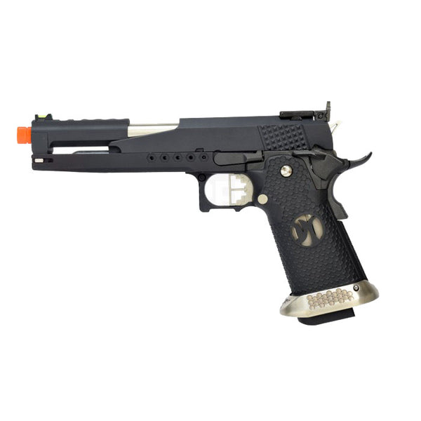Hi-Capa Black Magic 1911 Pistol by Armorer Works Custom (ASPG185) / Green Gas Airsoft Pistol - Totowa Airsoft