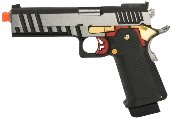 Hi-Capa Double 1911 Pistol by Armorer Works Custom (ASPG175) / Green Gas Airsoft Pistol - Totowa Airsoft