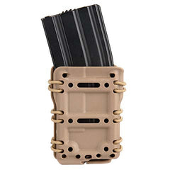 Interchangeable Tactical MOLLE Pouch Tan (TACMPM4) / Airsoft Rifle Magazine Pouch - Totowa Airsoft