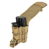 TACO Double MOLLE Pouch Tan (TACO2IN1) / Airsoft Rifle Magazine Pouch - Totowa Airsoft