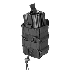 Double Bungee Quick Draw MOLLE Pouch (M4DMP) / Airsoft Rifle Magazine Pouch - Totowa Airsoft