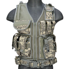 ACU G2 Cross Draw Tactical Vest (TACVEST1) / Tactical Vest - Totowa Airsoft