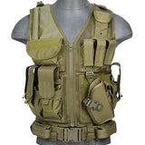 OD G2 Cross Draw Tactical Vest (TACVEST1) / Tactical Vest - Totowa Airsoft