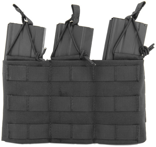 Triple Adjustable MOLLE Pouch (VDAM3P) / Airsoft Rifle Magazine Pouch - Totowa Airsoft