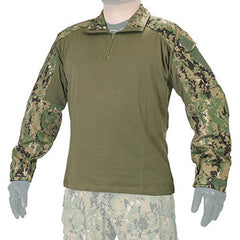 1/4 Zip Gen3 Jungle Digital Combat Shirt (GEN3SHIRT) / Combat Shirts - Totowa Airsoft