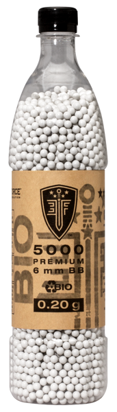Elite Force 5000 BIO 0.20g BB's (BBBE205M) / Outdoor Airsoft Ammo - Totowa Airsoft