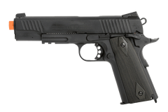 Colt 1911 Rail Blackout Pistol by KWC (ASPC153) / CO2 Airsoft Pistol - Totowa Airsoft