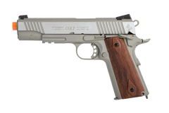 Colt 1911 Rail Government Pistol by KWC (ASPC151) / CO2 Airsoft Pistol - Totowa Airsoft