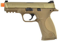 S&W M&P9 Full Pistol by VFC (ASPG160) / Green Gas Airsoft Pistol - Totowa Airsoft