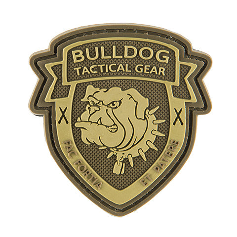 G-Force Bulldog Shield Patch (PATCH056) / Morale Patch - Totowa Airsoft