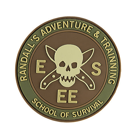 G-Force School of Survival Patch (PATCH175) / Morale Patch - Totowa Airsoft