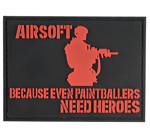 G-Force Paintballers Need Heroes Patch (PATCH148) / Morale Patch - Totowa Airsoft