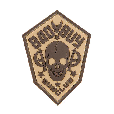 G-Force Bad Guy Gun Club Patch (PATCH065) / Morale Patch - Totowa Airsoft