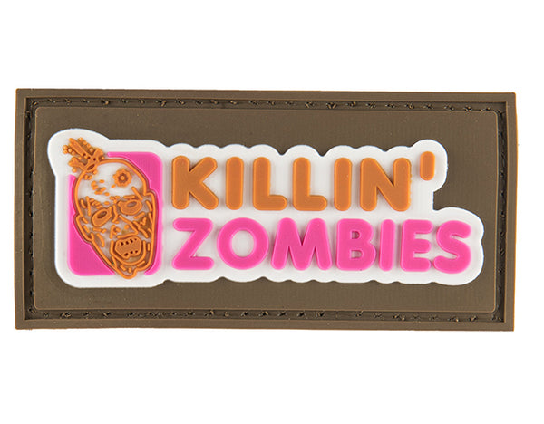 G-Force Killin' Zombies Patch (PATCH138) / Morale Patch - Totowa Airsoft