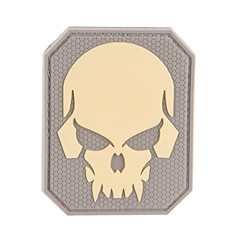 G-Force Large Pirate Skull Patch (PATCH075) / Morale Patch - Totowa Airsoft