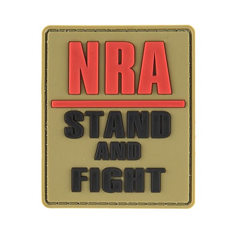 G-Force NRA Stand and Fight Patch (PATCH156) / Morale Patch - Totowa Airsoft
