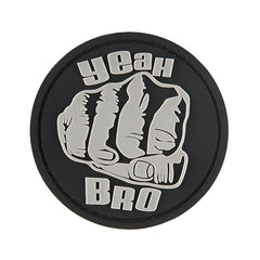 G-Force Yeah Bro Patch (PATCH160) / Morale Patch - Totowa Airsoft