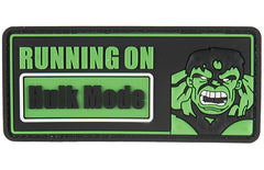G-Force Hulk Mode Patch (PATCH133) / Morale Patch - Totowa Airsoft
