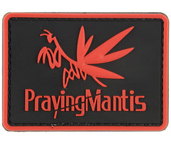 G-Force Praying Mantis Patch Red (PATCH095) / Morale Patch - Totowa Airsoft