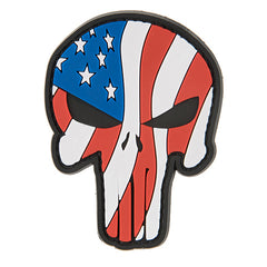 G-Force Punisher Waving Flag Patch (PATCH098) / Morale Patch - Totowa Airsoft