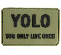 G-Force YOLO Patch (PATCH102) / Morale Patch - Totowa Airsoft