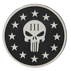 G-Force Punisher 3% Patch (PATCH105) / Morale Patch - Totowa Airsoft