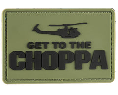 G-Force Get to the Choppa Patch (PATCH107) / Morale Patch - Totowa Airsoft