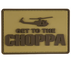 G-Force Get to the Choppa Patch (PATCH108) / Morale Patch - Totowa Airsoft