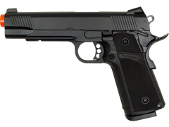 KJW 1911 Black Beauty Pistol (ASPG137) / Green Gas / CO2 Airsoft Pistol - Totowa Airsoft